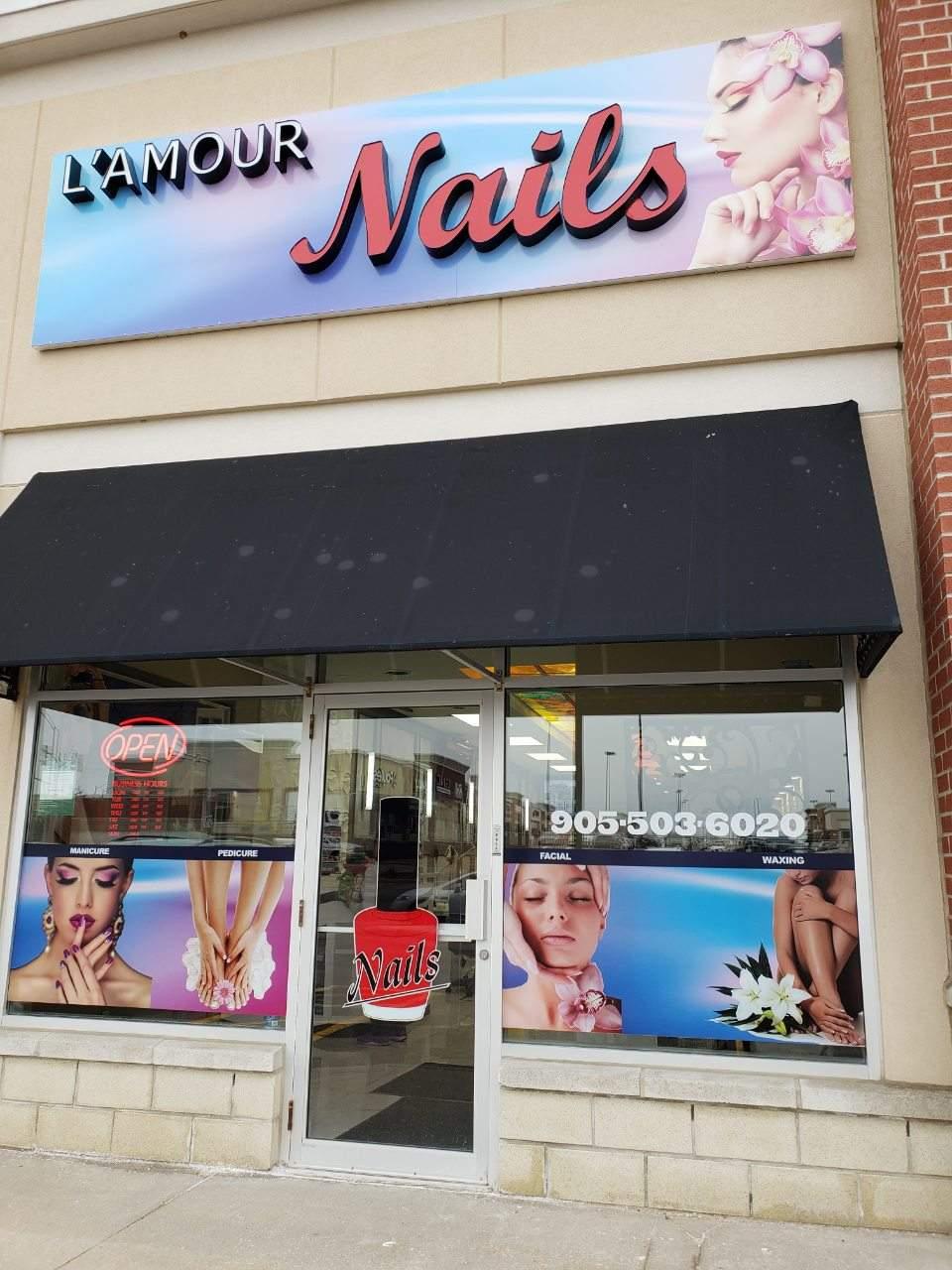 Nail salon near me Aurora King Ontario