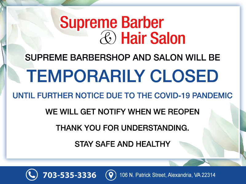 Supreme Barbershop and Salon  Hair salon 22314  Haircut  Alexandria VA