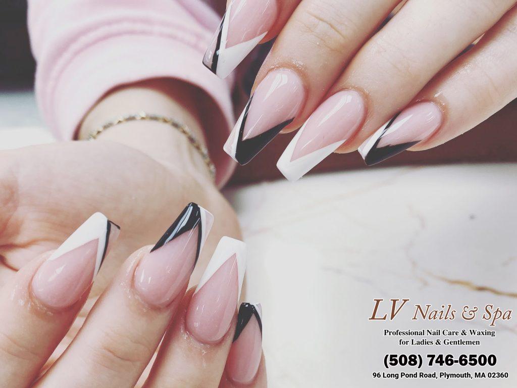 MA 02360 nail salons near me