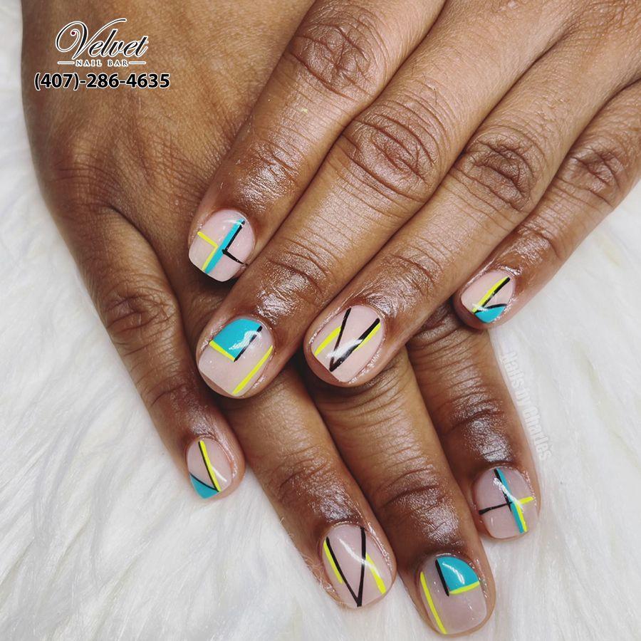 nail salon near me 32801
