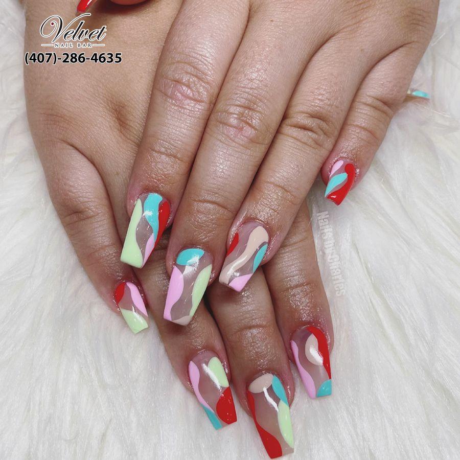 nail salon Orlando 32801